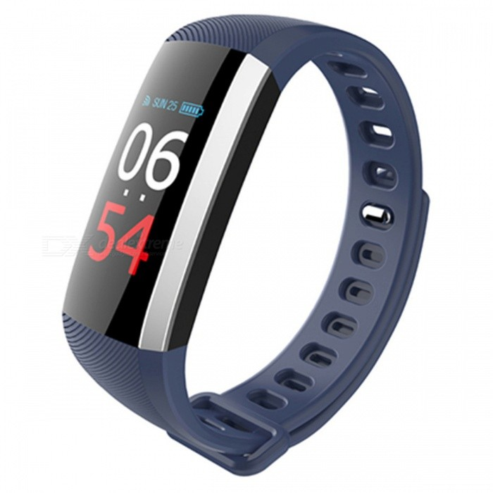 Maikou G19 Sport Smart Bracelet w/ Blood Pressure Monitoring - BlueForm  ColorBlueModelG19Quantity1 DX.PCM.Model.AttributeModel.UnitShade Of ColorBlueCasing MaterialTPUWristband MaterialTPUSuitable forAdultsGenderUnisexStyleOthers,Sports WatchTypeSports watchesDisplayDigitalMovementDigitalDisplay Format24 hour time formatWater ResistantWater Resistant 3 ATM or 30 m. Suitable for everyday use. Splash/rain resistant. Not suitable for showering, bathing, swimming, snorkelling, water related work and fishing.Dial Diameter3 DX.PCM.Model.AttributeModel.UnitDial Thickness1.6 DX.PCM.Model.AttributeModel.UnitWristband Length26 DX.PCM.Model.AttributeModel.UnitBand Width2 DX.PCM.Model.AttributeModel.UnitBattery1Packing List1 x Smart Bracelet<br>
