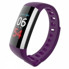 Maikou G19 Sport Smart Bracelet w/ Blood Pressure Monitoring - Purple