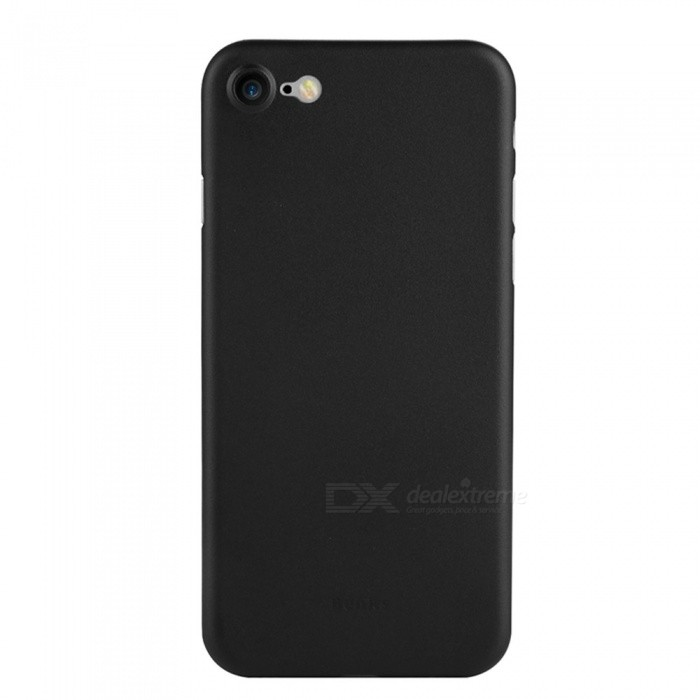 Benks Ultra Thin Lollipop PP Case for IPHONE 8/7 - Black (0.4mm)Plastic Cases<br>Form  ColorBlackModelLollipopQuantity1 pieceMaterialPPCompatible ModelsiPhone 7,IPHONE 8DesignSolid Color,MatteStyleBack CasesCertificationRoHSOther Features0.4mm thickness only; <br>Full protection; <br>Precise Hole; <br>With mat finish on the surface, it can prevent the accidental slip of the phone.  Anti-fingerprint, anti-scratch, waterproof &amp; durable.Packing List1 x Protective Case<br>