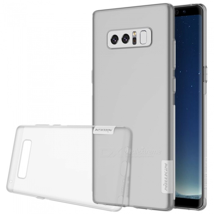 Nillkin Soft TPU Protective Cover Case for Samsung Galaxy Note 8TPU Cases<br>Form  ColorTranslucent WhiteModelNSXNOT8BS08MaterialTPUQuantity1 pieceShade Of ColorWhiteCompatible ModelsGalaxy Note 8Packing List1 x Nillkin Nature TPU Case<br>