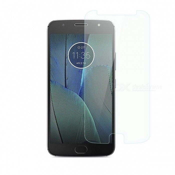 Dayspirit Tempered Glass Screen Protector for Motorola Moto G5SScreen Protectors<br>Form  ColorTransparentScreen TypeGlossyModelN/AMaterialTempered glassQuantity1 setCompatible ModelsMotorola Moto G5SFeaturesTempered glassPacking List1 x Tempered glass screen protector1 x Dust cleaning film 1 x Alcohol prep pad<br>