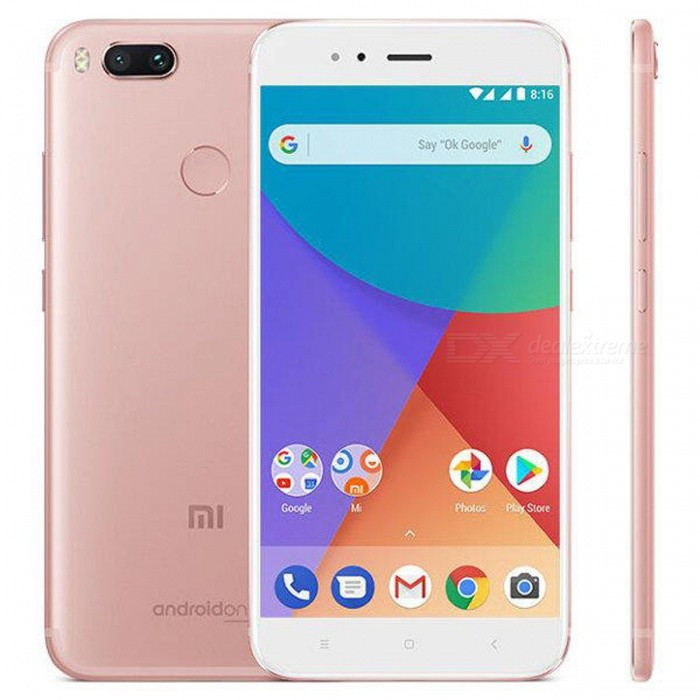 Xiaomi Mi A1 Android 7.1.2 4G Phone w/ 4GB RAM 64GB ROM - Rose Gold