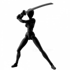 Buy PVC Action Figure Collectible Model Toy - Black (D)
