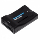 BSTUO 1080P HDMI to Scart Converter - Black (US Plug)