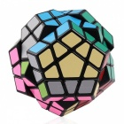 . Shengshou 65mm Megaminx Smooth Speed ​​Magic Cube Pussel Toy - Svart