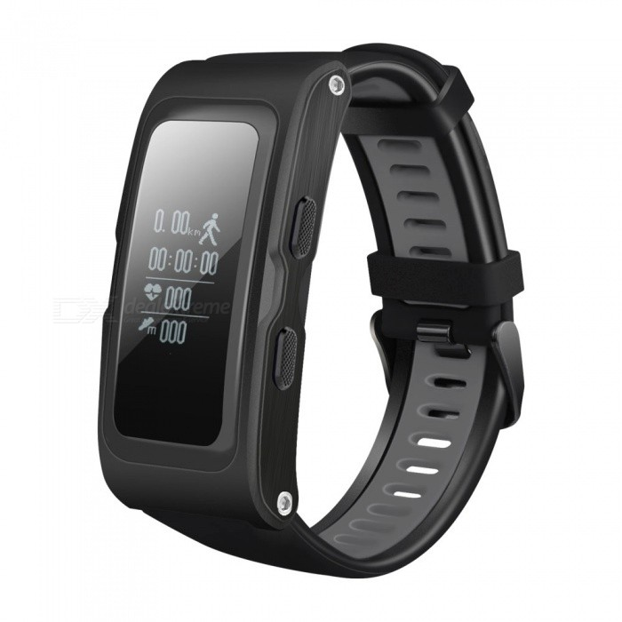 Ravi Smart Band Independent GPS Tracker Heart Rate Monitor - BlackSmart Bracelets<br>Form  ColorBlackQuantity1 DX.PCM.Model.AttributeModel.UnitMaterialPlasticShade Of ColorBlackWater-proofIP67Bluetooth VersionOthers,Bluetooth V4.2Touch Screen TypeOthers,OLEDCompatible OSAndroid, IOSBattery Capacity220 DX.PCM.Model.AttributeModel.UnitBattery TypeLi-polymer batteryStandby Time240 DX.PCM.Model.AttributeModel.UnitPacking List1 x Smart Band1 x Charging Cable1 x Manual<br>