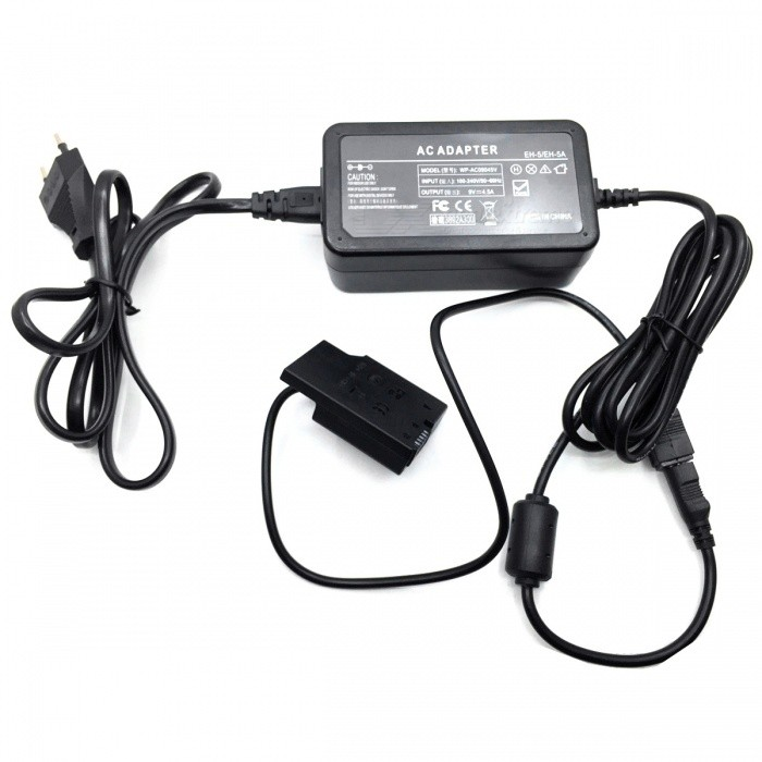 EH-5+EP-5A Power Adapter for Nikon P7000 P7100 - Black (EU Plug)