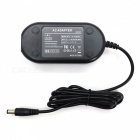 ACK-E6 Power Adapter for Canon 5D2 5D3 60D 70D - Black (EU Plug)