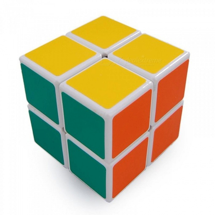 Shengshou 50mm 2x2x2 Smooth Speed Magic Cube Puzzle Toy - WhiteMagic IQ Cubes<br>Form  ColorWhiteMaterialABSQuantity1 DX.PCM.Model.AttributeModel.UnitTypeOthers,2x2x2Suitable Age 3-4 years,5-7 years,8-11 years,12-15 years,Grown upsPacking List1 x Magic Cube<br>