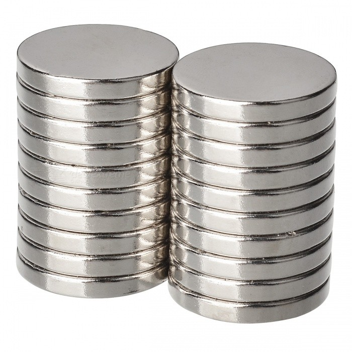 20*3mm NdFeB Neodymium Circular Magnet DIY Puzzle Set - Silver (20PCS)Magnets Gadgets<br>Form  ColorSilverQuantity1 setNumber20MaterialNdFeBSuitable Age 12-15 years,Grown upsPacking List20 x Magnets<br>