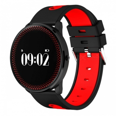 Maikou CF007 Smart Bracelet w/ Heart Rate Monitor / Pedometer - Red