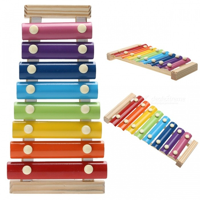 Wooden Musical Toys : Note wooden musical toy for kids free shipping