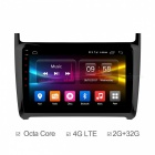 "Ownice Octa-Core 9"" Android 6.0 Car DVD Player GPS for VW POLO 2016"