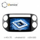 "Ownice Octa-Core 9"" Android 6.0 Car DVD GPS for VW Tiguan 2010-16"