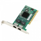 82546 chip pci dual port rj45 ethernet pci desktop adapter card