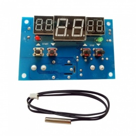 DC 9V-15V Intelligent Digital Thermostat Module with OLED Display