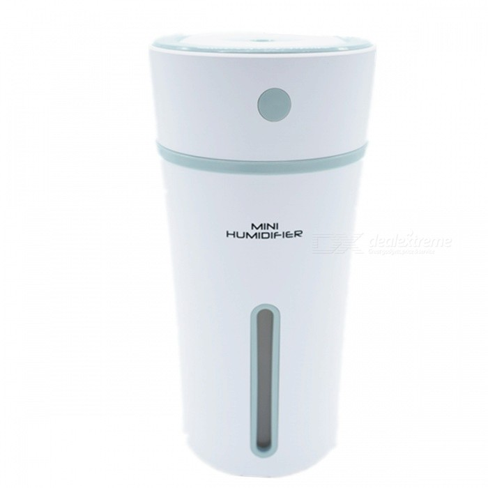 KELIMA Portable Water Bottle Cup Shape Humidifier - WhiteAir Humidifiers<br>Form  ColorWhiteModelN/AMaterialABSQuantity1 DX.PCM.Model.AttributeModel.UnitShade Of ColorWhiteMode SettingABS+PP+silica gelHumidification TypePure EvaporationCapacity300MLContinuous Humidification time10HSuited SpaceCar, office, outdoor universalPower SupplyOthers,USBPower AdapterOthers,USBPower0.74 DX.PCM.Model.AttributeModel.UnitOther FeaturesWater bottle capacity / use time: 300ML / 10 hours;<br>Battery capacity: 500mAPacking List1 x Humidifier1 x USB line<br>