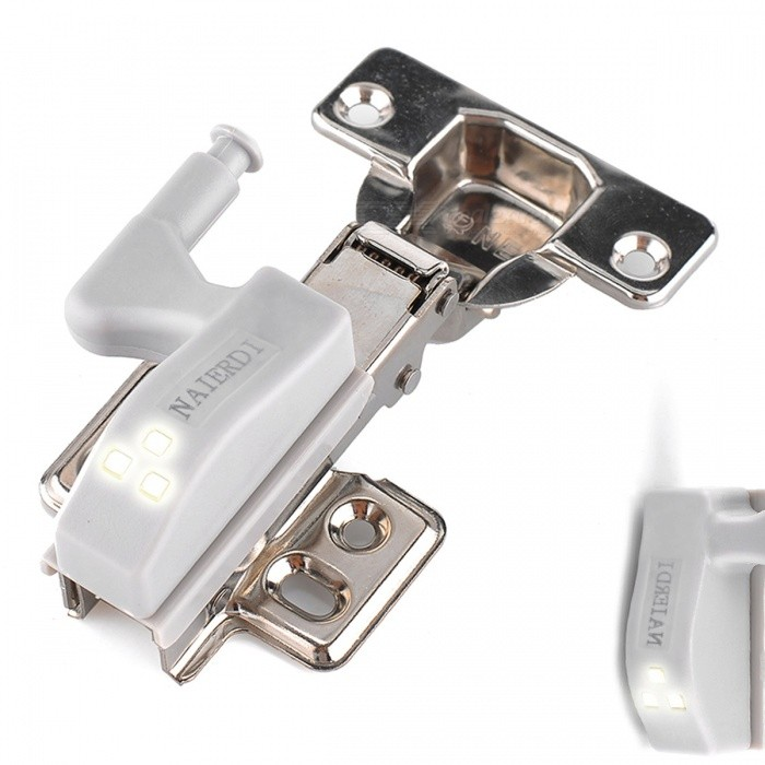 10Pcs 0.25W LED Sensor Hinge Cabinet Lights - WhiteLED Nightlights<br>Form  ColorWhiteMaterialABSQuantity10 piecesPowerOthers,0.25WRated VoltageOthers,12 VColor BINWhiteEmitter Type3528 SMD LEDTotal Emitters3DimmableNoInstallation TypeWall MountPacking List10 x Hinge lights (not include battery!!!)<br>