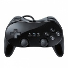 Classic wired gamepad shock control joystick for nintendo wii - black