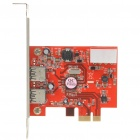 2-Port USB 3.0 PCI-E Controller Card (Super-Speed 5Gbps)