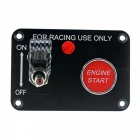 IZTOSS S2685 12V 2-Set Switch Panel for Racing Use