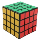 ShengShou 62mm 4x4x4 Scrub Stickers Speed Magic Cube Puzzle Toy for Kids Adults - Black