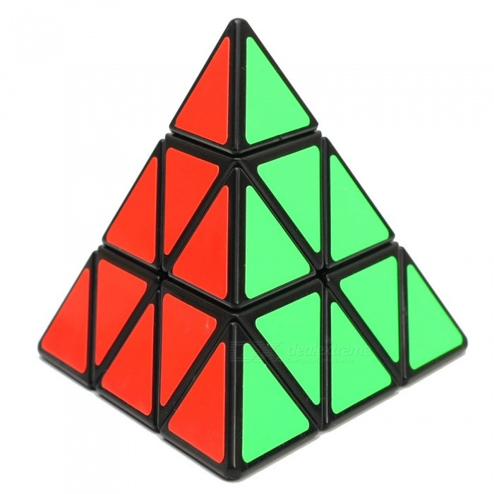 ShengShou 98mm Pyraminx Smooth Speed Magic Cube - BlackMagic IQ Cubes<br>Form  ColorBlack BackgroundModelN/AMaterialABSQuantity1 DX.PCM.Model.AttributeModel.UnitTypeOthers,PyraminxSuitable Age 3-4 years,5-7 years,8-11 years,12-15 years,Grown upsPacking List1 x Magic Cube<br>