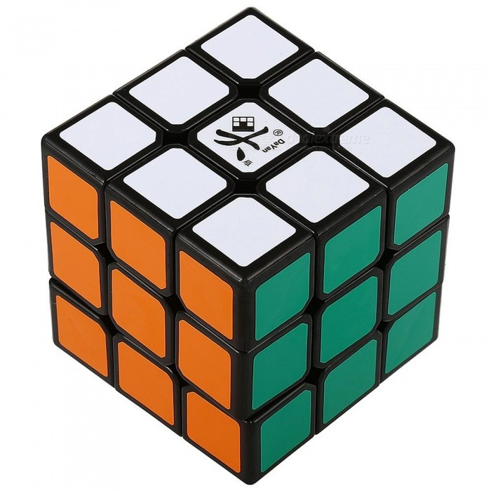 DaYan GuHong 57mm 3x3x3 Stickerless Speed Magic Cube - BlackMagic IQ Cubes<br>Form  ColorBlack BackgroundModelN/AMaterialABSQuantity1 pieceType3x3x3Suitable Age 3-4 years,5-7 years,8-11 years,12-15 years,Grown upsPacking List1 x Magic Cube<br>