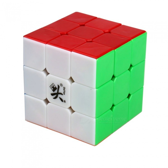 Dayan ZhanChi 57mm 3x3x3 Stickerless Speed Magic Cube Puzzle for Kids Adults - Multi-ColorMagic IQ Cubes<br>Form  ColorMulti-ColorModelN/AMaterialABSQuantity1 DX.PCM.Model.AttributeModel.UnitType3x3x3Suitable Age 3-4 years,5-7 years,8-11 years,12-15 years,Grown upsPacking List1 x Magic Cube<br>