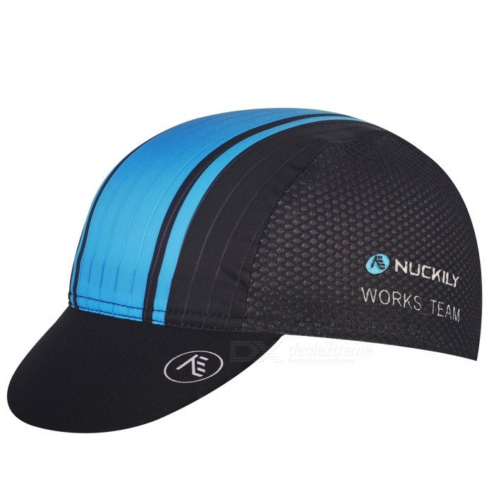 NUCKILY Outdoor Sunproof Breathable Quick Dry Cap Hat - BlueCaps and Hats<br>Form  ColorBlueModelPI16Quantity1 pieceShade Of ColorBlueMaterialPolyester + SpandexGenderUnisexSuitable forAdultsStyleSportsStrap TypeOthers,Elastic bandSeasonsFour SeasonsHead Circumference53-63 cmPacking List1 x Cap<br>