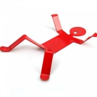 Little Iron Men Shape Pot Rack Stand - Red