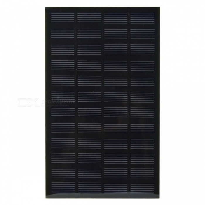 SUNWALK  2.5W 12V 208mAh Monocrystalline Solar Cell DIY Solar PanelSolar Powered Gadgets<br>Form  ColorBlackModelSW2512MaterialMonocrystalline silicon PET+EVA Laminated boardQuantity1 setPower2.5 WWorking Voltage   12 VWorking Current0.208 AOther FeaturesEfficiency:17%Packing List1 x Solar Panel<br>