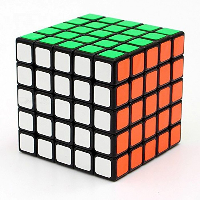 ShengShou 64mm 5x5x5 Scrub Speed Magic Cube Puzzle - BlackMagic IQ Cubes<br>Form  ColorBlack BackgroundModelN/AMaterialABSQuantity1 DX.PCM.Model.AttributeModel.UnitTypeOthers,5x5x5Suitable Age 3-4 years,5-7 years,8-11 years,12-15 years,Grown upsPacking List1 x Magic Cube<br>