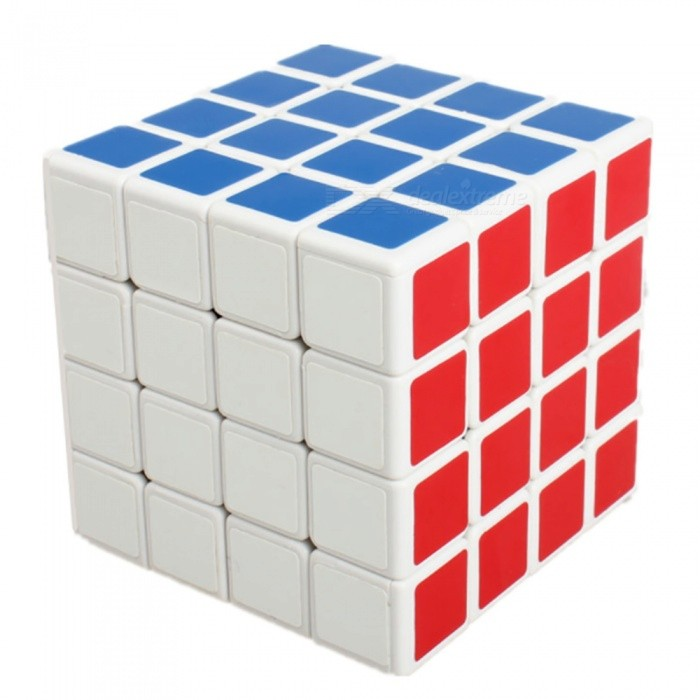 Shengshou 60mm 4x4x4 PVC Smooth Speed Magic Cube Puzzle - WhiteMagic IQ Cubes<br>Form  ColorWhite BackgroundModelN/AMaterialABSQuantity1 DX.PCM.Model.AttributeModel.UnitType4x4x4Suitable Age 3-4 years,5-7 years,8-11 years,12-15 years,Grown upsPacking List1 x Magic Cube<br>