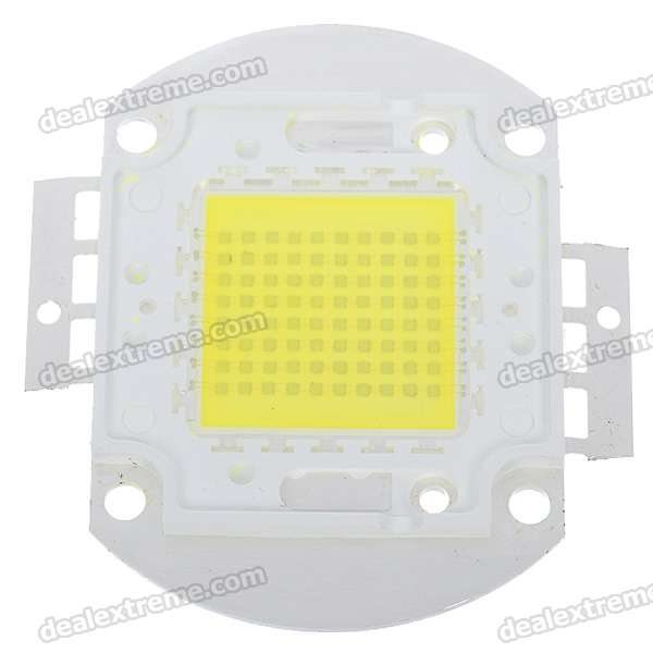 80W 6400LM fresco Módulo Placa White Light LED de metal (32 ~ 36V)