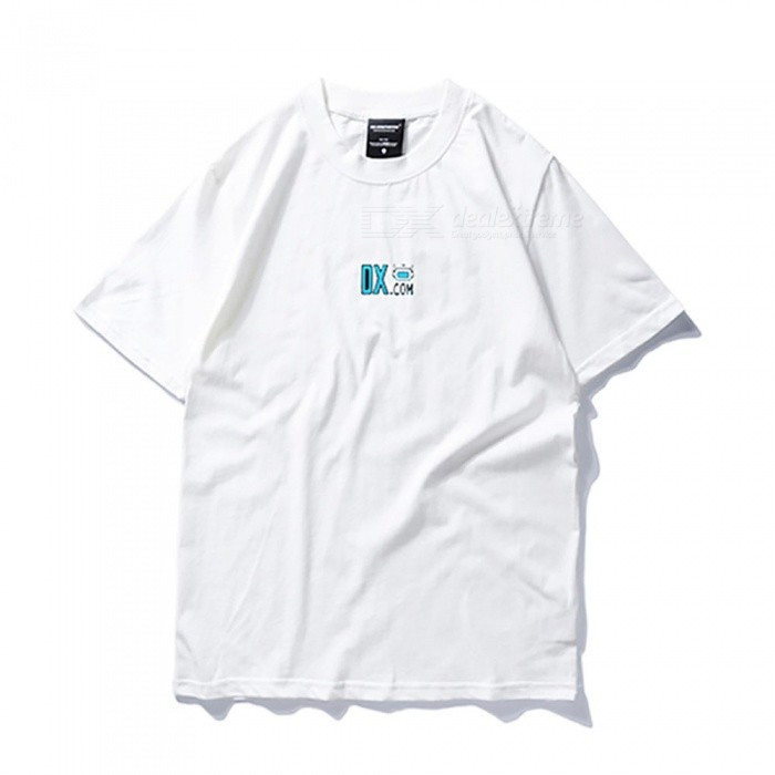 DX 12th Anniversary T-shirt - WhiteTees<br>Form  ColorWhiteSizeLModelDX 12th T-shirtQuantity1 DX.PCM.Model.AttributeModel.UnitShade Of ColorWhiteMaterialPure cottonShoulder Width49 DX.PCM.Model.AttributeModel.UnitChest Girth106 DX.PCM.Model.AttributeModel.UnitSleeve Length20 DX.PCM.Model.AttributeModel.UnitTotal Length72 DX.PCM.Model.AttributeModel.UnitSuitable for Height175-180 DX.PCM.Model.AttributeModel.UnitPacking List1 x T-shirt<br>