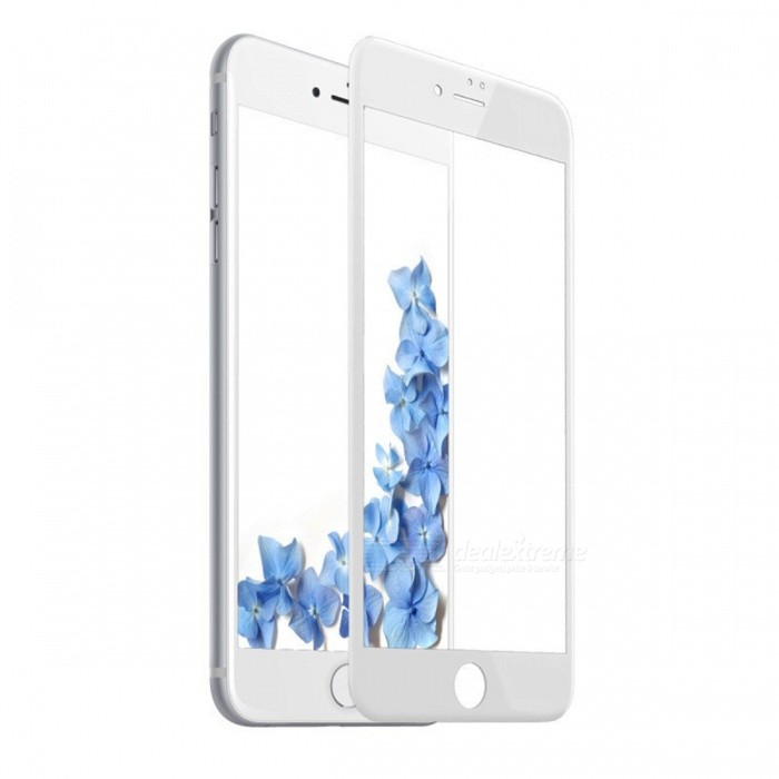 SZKINSTON Tempered Glass Screen Protector Film for IPHONE 7, 8 - WhiteScreen Protectors<br>Screen TypeSilk Tempered Glass Screen Film (White)ModelKST1709060Quantity1 pieceMaterialTempered glassForm  ColorTransparent + WhiteCompatible ModelsiPhone 7,IPHONE 8StyleScreen protectorScreen FeaturesScratch Proof,Fingerprint Proof,Explosion ProofPacking List1 x Screen Protector Film1 x Self-help Film Set1 x Crystal Color Box Packaging<br>