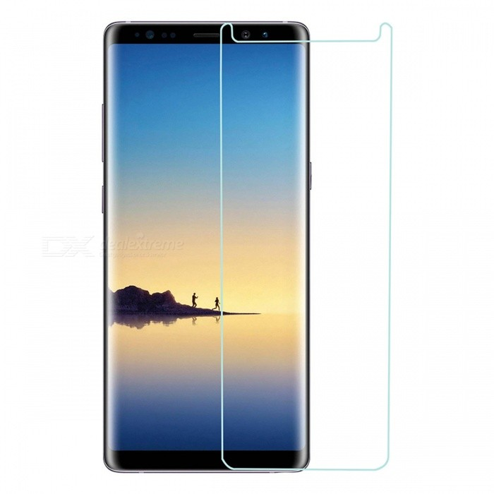 Mini Smile Tempered Glass Screen Protector for Samsung Galaxy Note 8Screen Protectors<br>Form  ColorTransparentScreen TypeGlossyModelN8-TPMaterialTempered GlassQuantity1 setCompatible ModelsSamsung Galaxy Note 8Features2.5D,Fingerprint-proof,Scratch-proof,Tempered glassPacking List1 x Screen protector1 x Wipe1 x Dust sticker1 x Wet wipe<br>