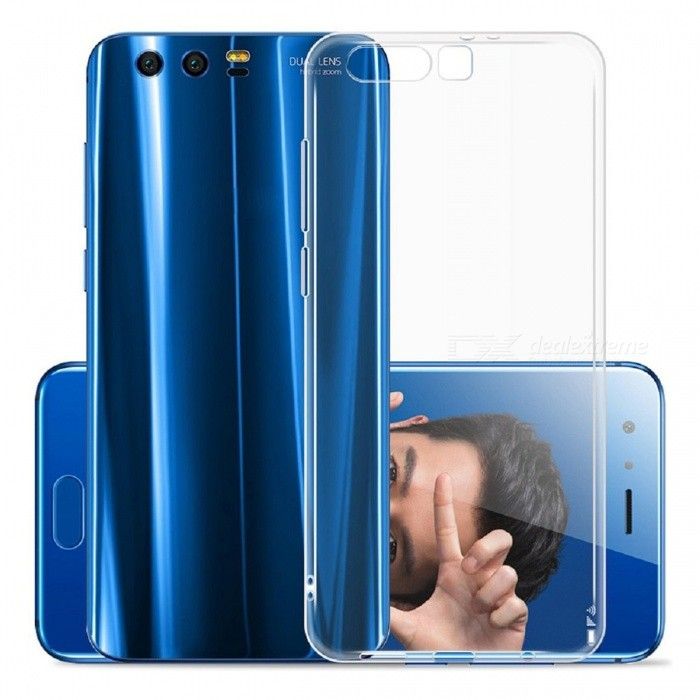 Naxtop TPU Ultra-thin Soft Case for Huawei Honor 9 - TransparentTPU Cases<br>Form  ColorTransparentModelN/AMaterialTPUQuantity1 pieceShade Of ColorTransparentCompatible ModelsHuawei Honor 9Packing List1 x Case<br>