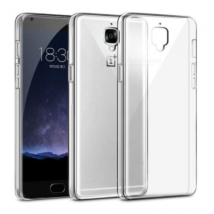 ... Naxtop TPU Ultra-thin Soft Case for OnePlus 3/3T - Transparent ...
