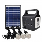 Multifunction Outdoor Solar Lighting Power Supply System with Speaker