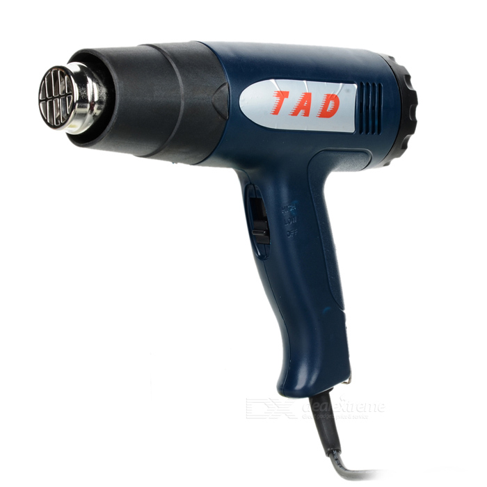 TAD-868 1600W 2-Mode Electric Hot Air Heat Gun (220V) yihua 858 110v 220v 650w smd rework solder station hot air blower heat gun