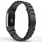 Miimall Stainless Steel Watch Band Strap for Fitbit Charge 2 - Black