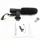 MIC-O1 Stereo Microphone for SLR Camera, DV - Black