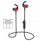 Noise Cancelling Bluetooth Wireless Sports Headset with TF Slot - Red