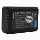 Replacement Compatible 7.2V 1500mAh Battery Pack for Sony NP-FW50