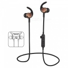 Noise Cancelling Bluetooth Wireless Sports Headset with TF Slot - Gold