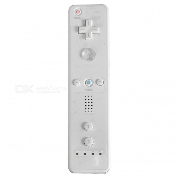 Wireless Control Remote Nunchuck Controller for Wii - WhiteRemote &amp; Controllers <br>Form  ColorWhiteQuantity1 DX.PCM.Model.AttributeModel.UnitMaterialPlasticShade Of ColorWhiteCompatible ModelsWiiConnectionOthers,-Nominal Capacity/ DX.PCM.Model.AttributeModel.UnitOperating Range- DX.PCM.Model.AttributeModel.UnitCable Length0 DX.PCM.Model.AttributeModel.UnitPacking List1 x Remote Controller for Wii<br>