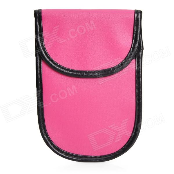 RF Anti-Radiation Signal Blocker Bag for Cell Phones - Deep Pink