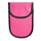 RF Anti-Radiation Signal Blocker Bag for Cell Phones - Pink